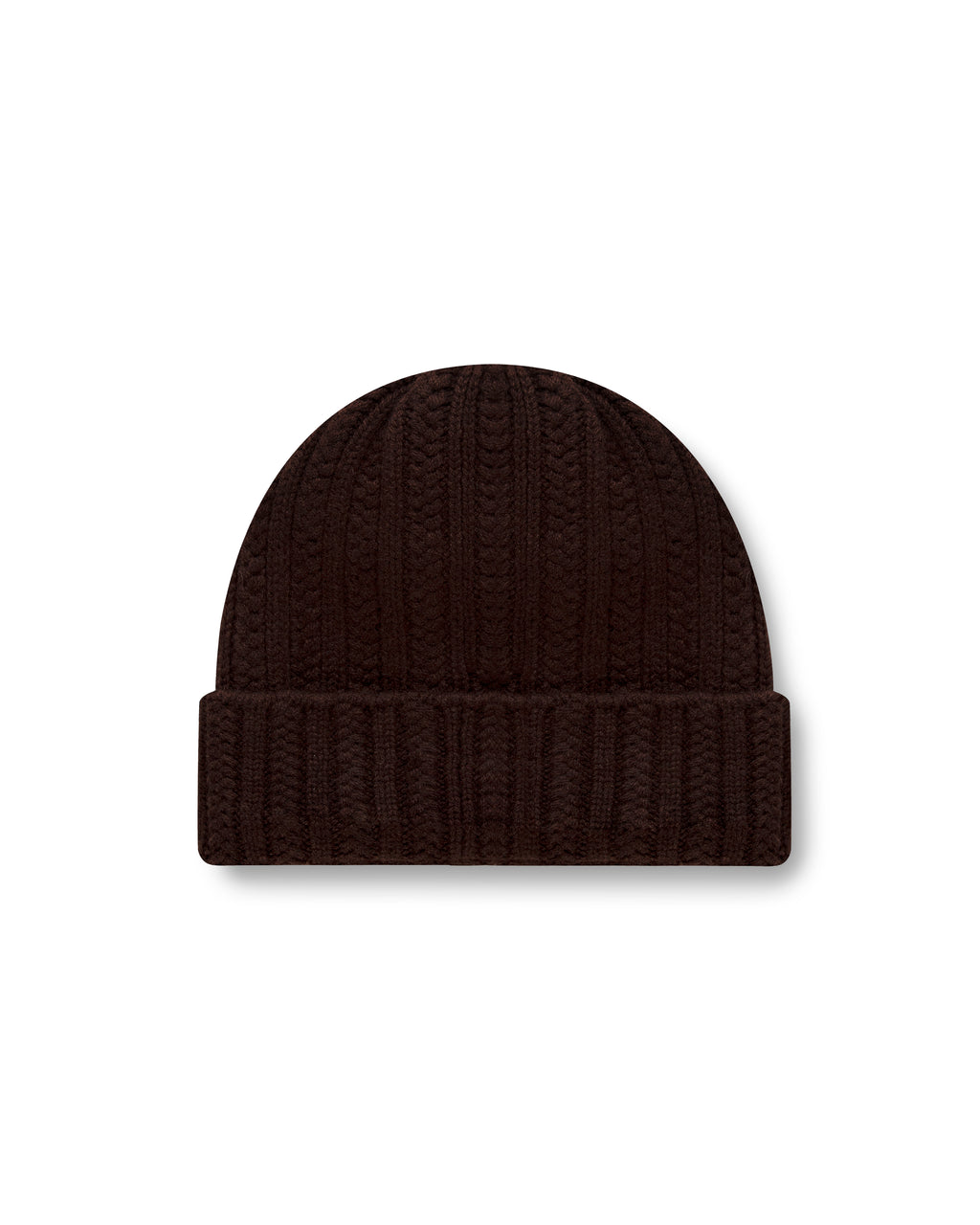 CHUNKY BEANIE Truffle Brown - Santosh clothing