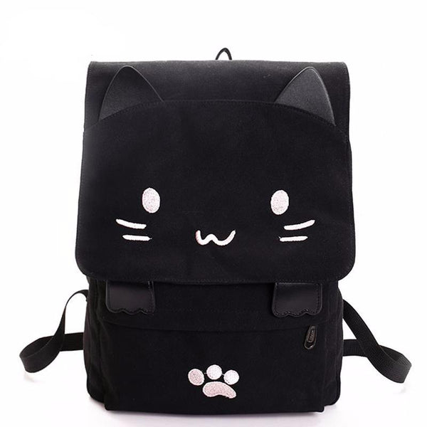 Cartoon cat backpack