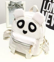 Panda Backpack Women Leather Backpacks kawaii Cartoon School Bags For Children Kids School Back Pack Sac A Dos Mochilas 2017 New