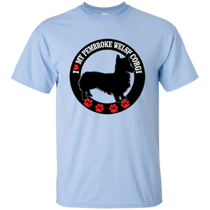 I Love My Pembroke Welsh Corgi Unisex T-Shirt