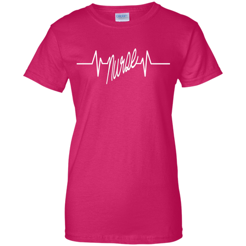 Nurse Heart Beat Women T-Shirt