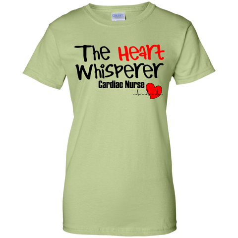 The Heart Whisperer Cardiac Nurse Women T-Shirt