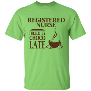 Registered Nurse Fueled By Choco Late T-Shirt