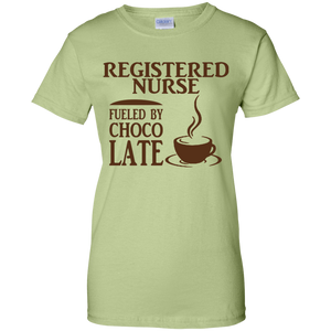 Registered Nurse Fueled By Choco Late Women T-Shirt