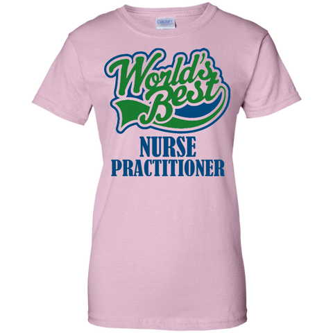 World's Best Nurse Practitioner Women T-Shirt