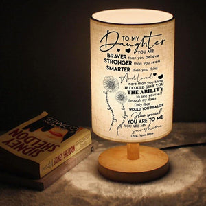 Mom To Daughter - You Are My Sunshine LED Wooden Table Lamp