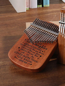 To My Daughter I Love You - 17 Keys Kalimba Thump Piano