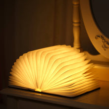 Mom To My Daughter Never Forget That I Love You LED Folding Book Lamp