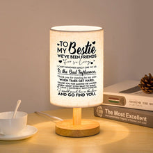 To My Bestie - We Have Been Friends LED Wooden Table Lamp