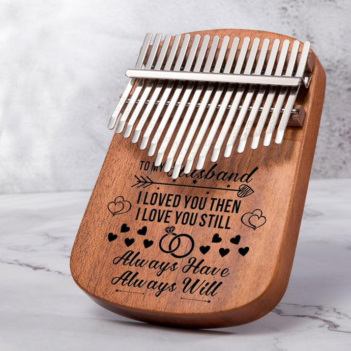 To My Husband I Love You Always - 17 Keys Kalimba Thump Piano
