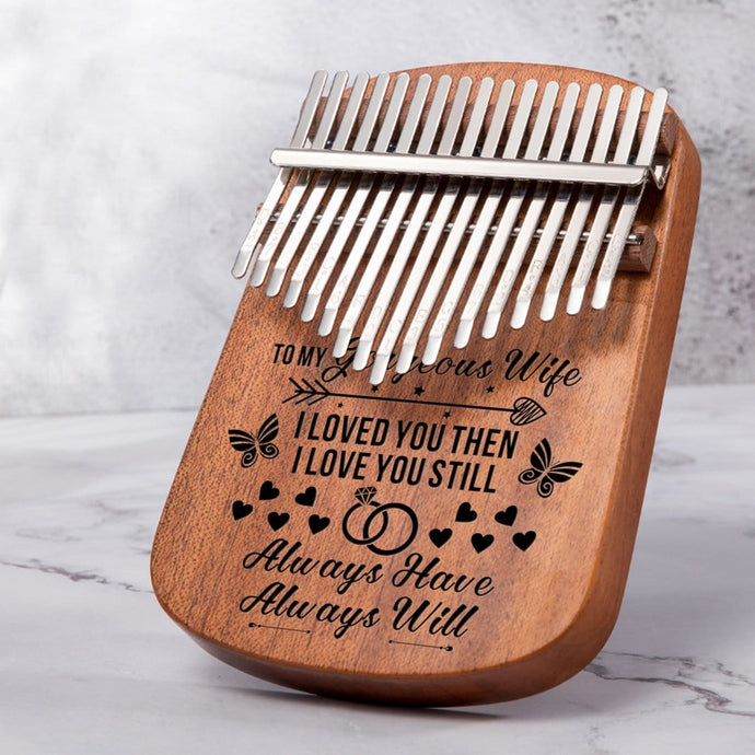 To My Wife I Love You Always - 17 Keys Kalimba Thump Piano