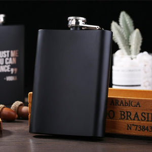 To My Boyfriend You Are My Everything Laser Engraved Hip Flask