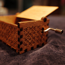 To My Wife I Love You Engraved Wooden Music Box