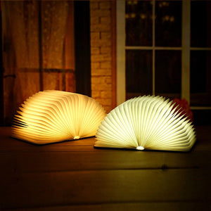 Mom To My Daughter I Love You LED Folding Book Lamp