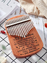 Kalimba Grandpa To Grandson - You Are Loved More 17 Keys Thump Piano GiveMe-Gifts