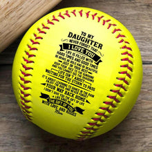 Mom To Daughter - Never Forget That I Love You Personalized Softball