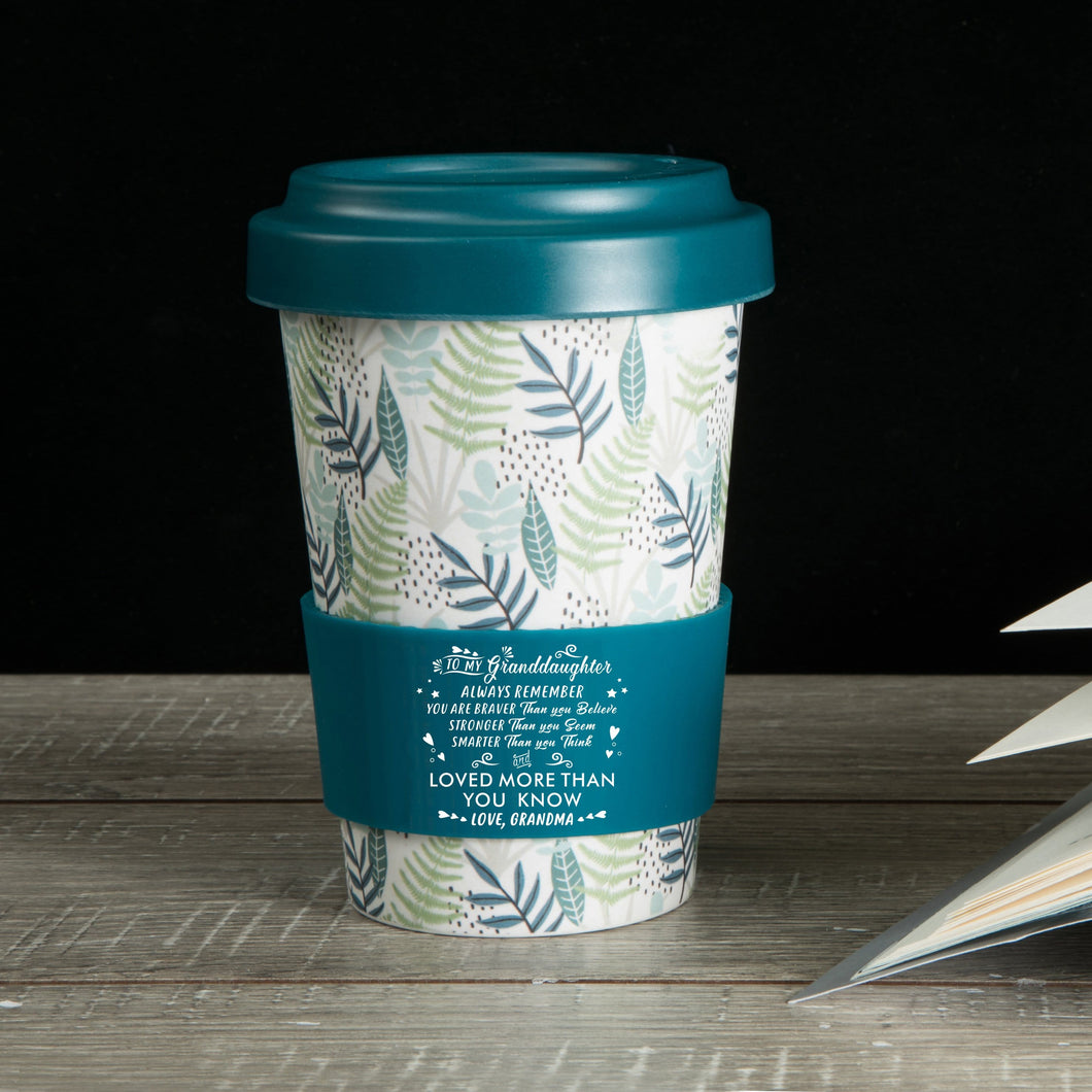 Grandma To Granddaughter - You Are Loved More Than You Know Ecoffee Cup