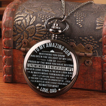 Dad To Son - Remember To Never Give Up Pocket Watch