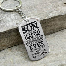 Mom To Son - You Realize How Special You Are To Me Personalized Keychain