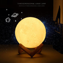 To My Wife I Love You - 3D LED Engraving Moon Lamp