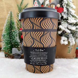 To Our Son - You Will Always Be Our Baby Ecoffee Cup