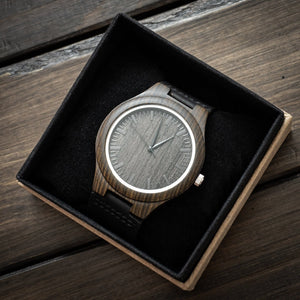 Mom To My Daughter I Am So Proud Of You Engraved Wooden Watch
