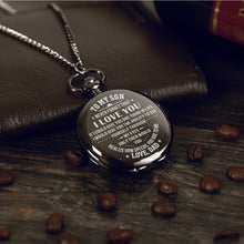 Dad To Son - You Realize How Special You Are To Me Pocket Watch