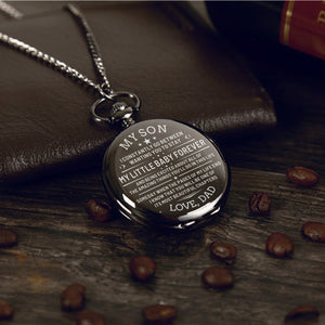 Dad To Son - My Little Baby Forever Pocket Watch