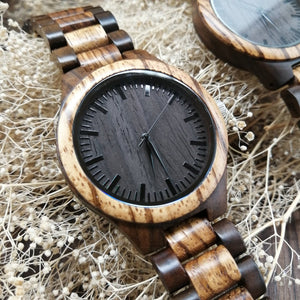 Mom To My Son I Am Always Here Engraved Wooden Watch
