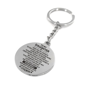 Mom To Daughter - Remember How Much You Are Loved Personalized Keychain