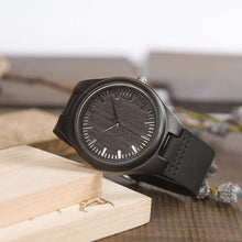 To My Boyfriend - I Always Be Yours Engraved Wood Watch