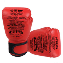 Mom To Son - You Will Never Lose Boxing Gloves For Kids