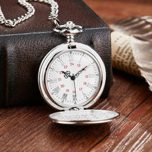 To My Husband I Love You Still Silver Engraved Pocket Watch