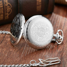 To My Husband - I Love You Still Silver Engraved Pocket Watch