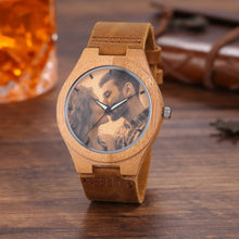 Personalized Loving Photo - Wooden Customized Watch