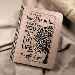 Mom To Daughter In Law - The Gift Of You LED Folding Book Light