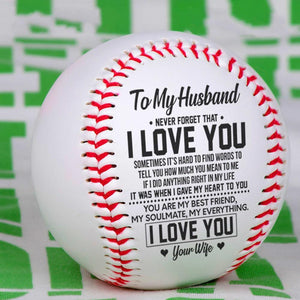 To My Husband - You Are My Everything Personalized Baseball
