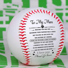 To My Man - I Love You Always And Forever Personalized Baseball