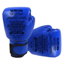Dad To My Son You Will Never Lose Boxing Gloves For Kids