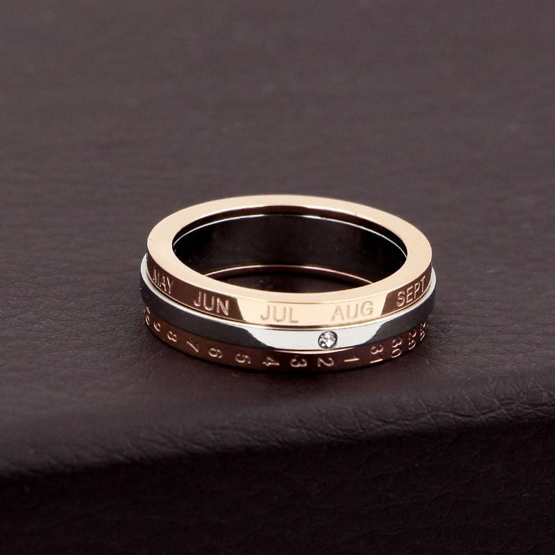 Love The Day I Met You Spinner Ring