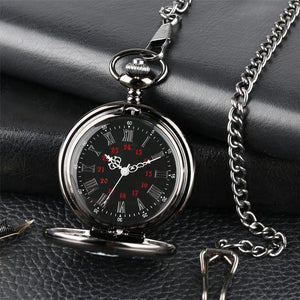 Mom To Son - I Love You Engraved Pocket Watch