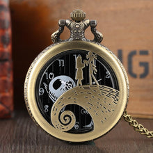 Love The Nightmare Before Christmas Halloween Pocket Watch