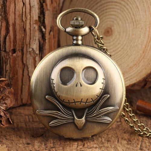 Pocket Watches Jack The Nightmare Before Christmas Halloween Vintage Pocket Watch GiveMe-Gifts