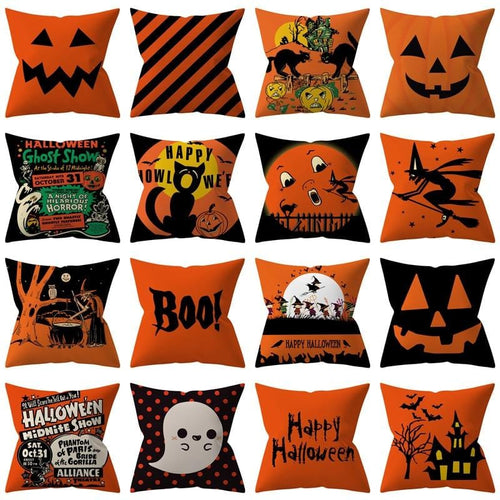 Pillow Covers Happy Halloween Decorations Set Throw Pillow Cover GiveMe-Gifts