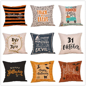 Pillow Covers Halloween Decorations Set Throw Pillow Cover GiveMe-Gifts
