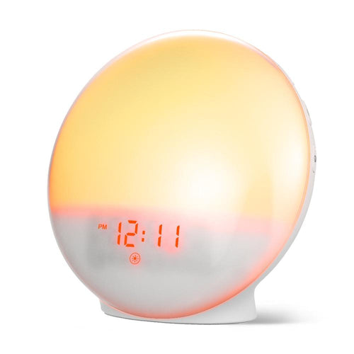 Wake Up Light FM Radio Sunrise Alarm Clock