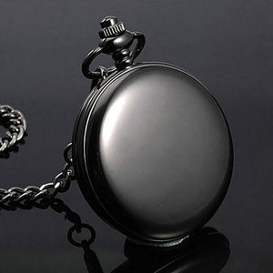 To My Husband I Love You Always Engraved Pocket Watch