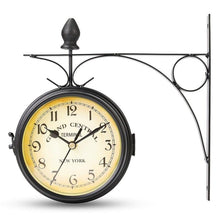 Grand Central Double Sided Antique Wall Clock