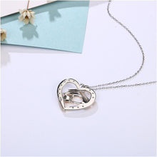 Mom and Baby Heart Lovely Necklace