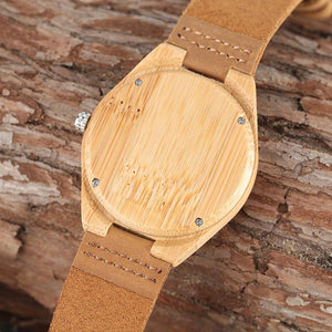 I Am A Proud Firefighter Wooden Watch